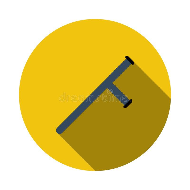 Icono del bast?n de la polic?a libre illustration