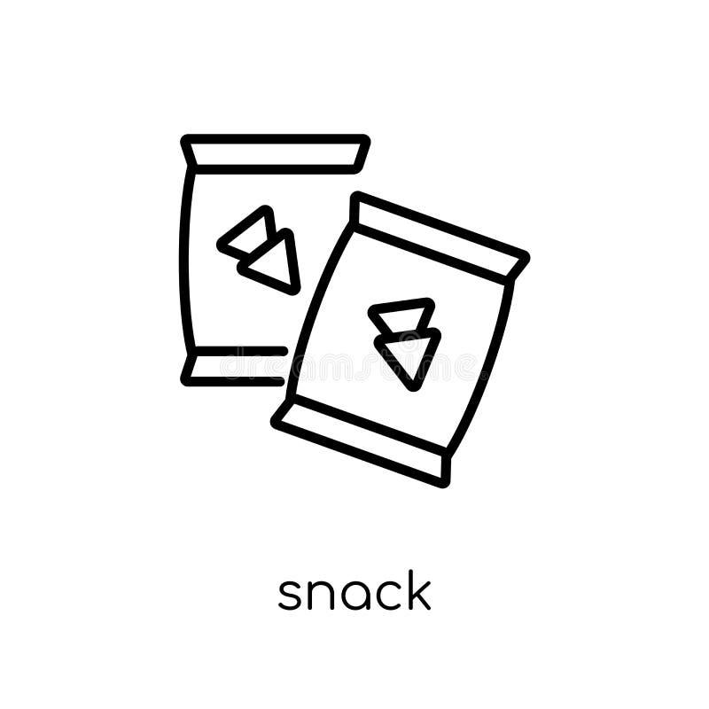 Icono del bocado de la colección del cumpleaños y del partido ilustración del vector