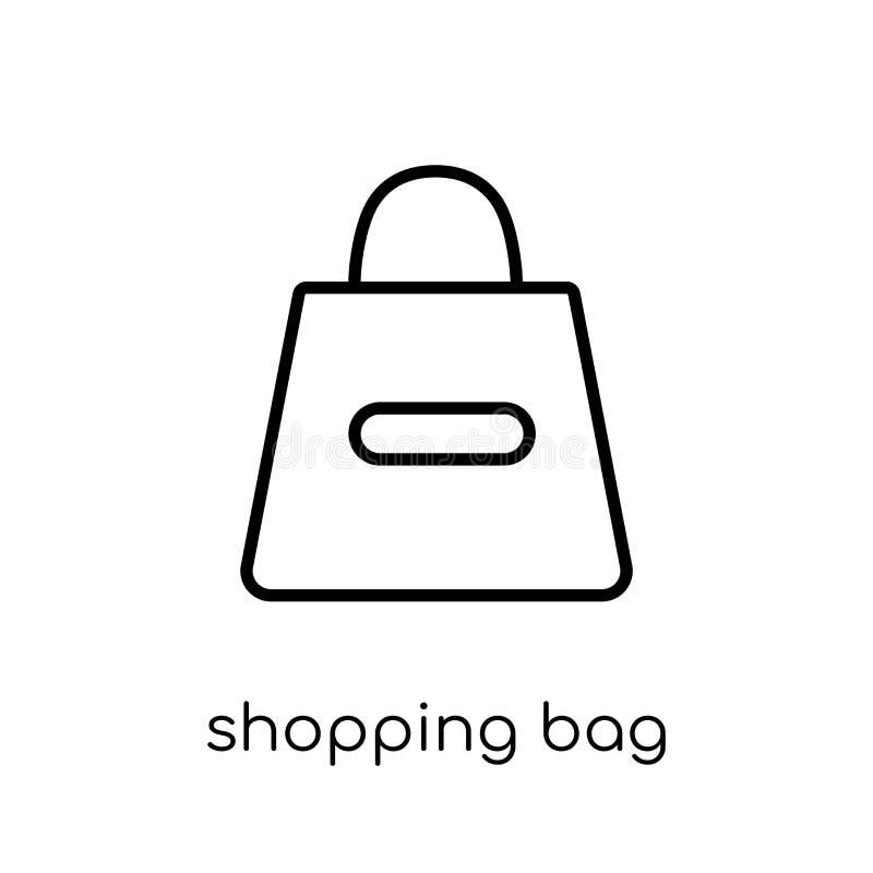 Icono del bolso de compras de la colección libre illustration