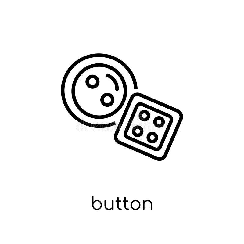 Icono del botón de la colección ilustración del vector