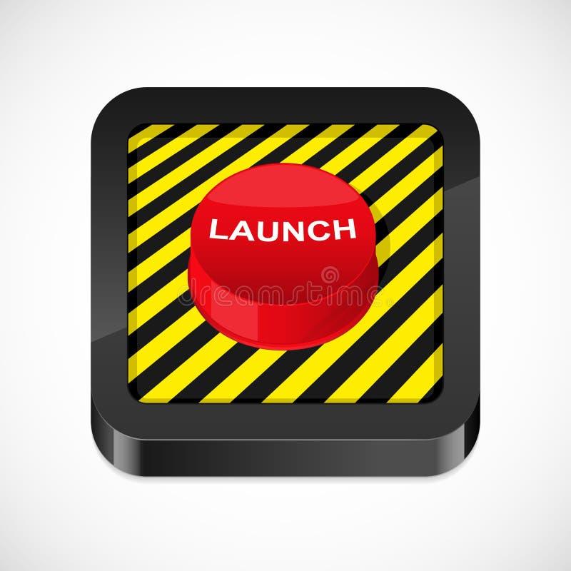 Icono del botón del lanzamiento libre illustration