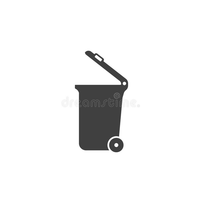 Icono del bote de basura, libre illustration