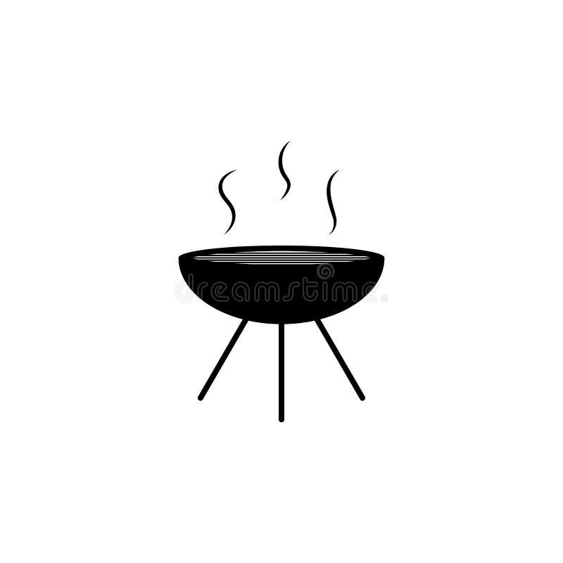 Icono del brasero Elemento del icono del partido y de la diversión Icono superior del diseño gráfico de la calidad Muestras e ico libre illustration
