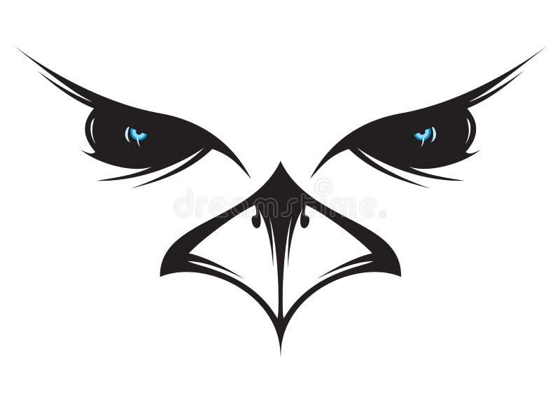 Icono del buho ilustración del vector