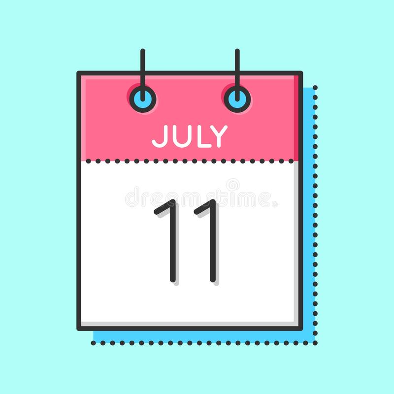 Icono del calendario del vector libre illustration