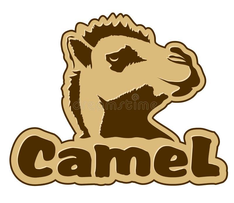 Icono del camello ilustración del vector