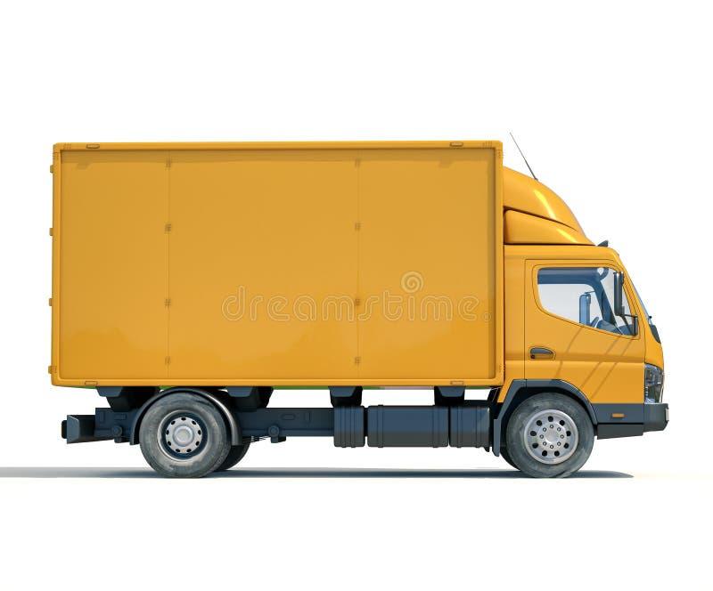 Icono del camión de reparto fotografía de archivo