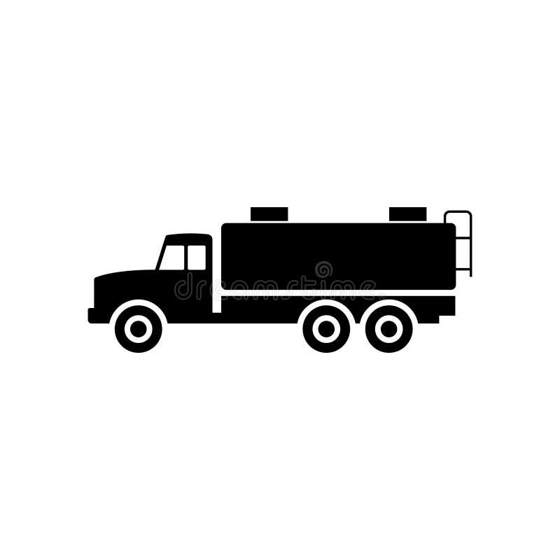 Icono del camión del tanque ilustración del vector