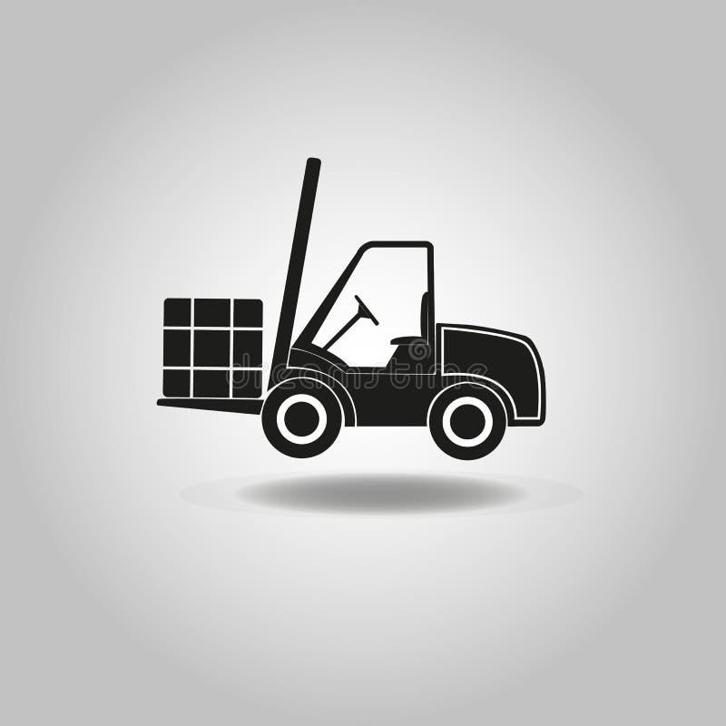 Icono del cargador de la rueda imagen de archivo