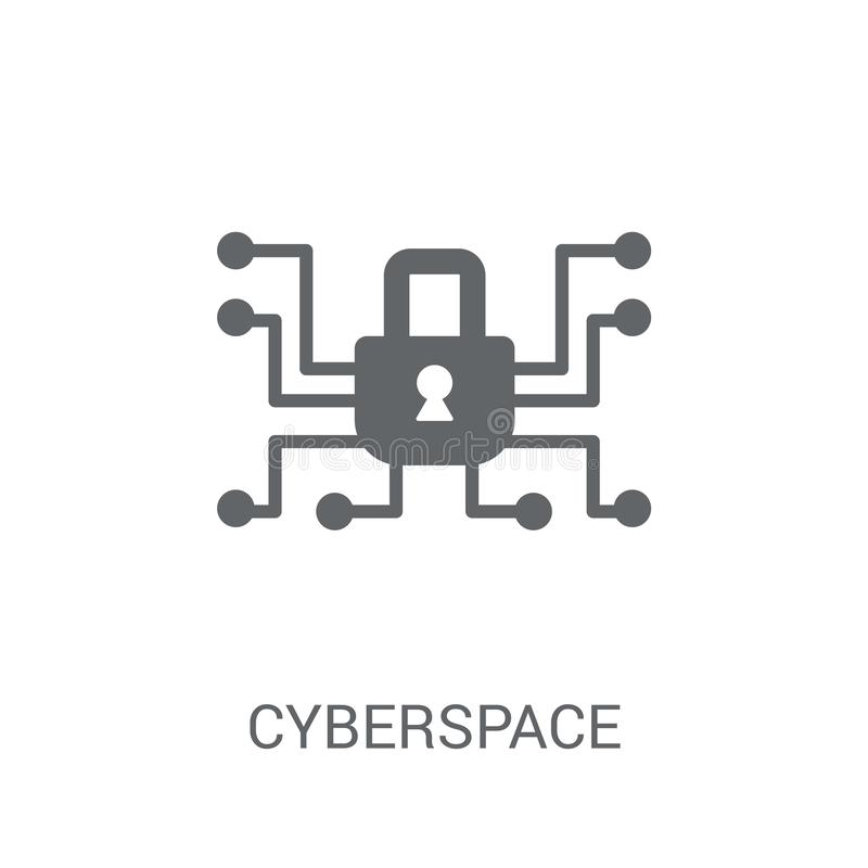 Icono del ciberespacio  libre illustration