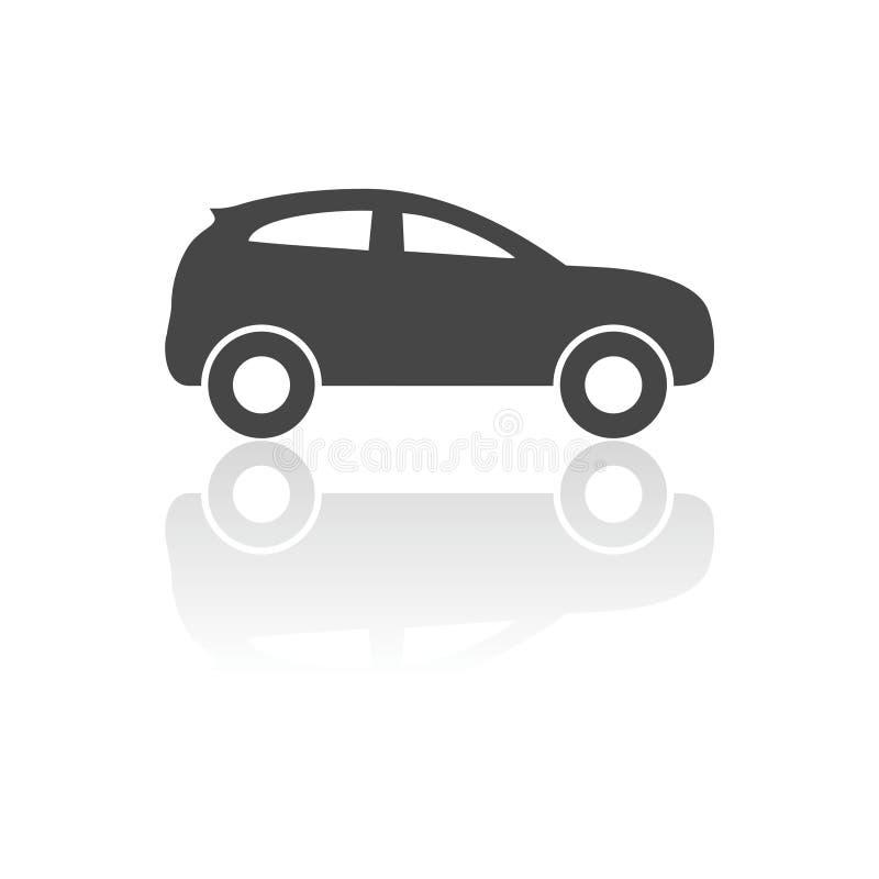Icono del coche ilustración del vector
