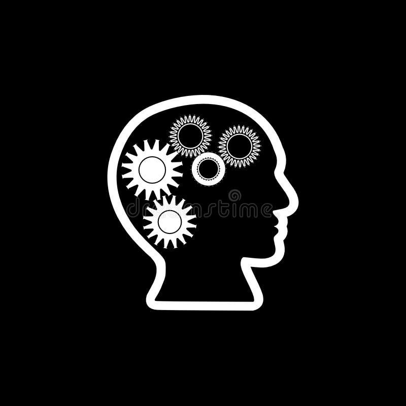 Icono del conocimiento, el mejor icono, muestra, ejemplo 3D ilustración del vector