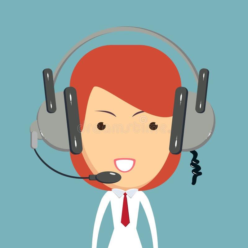 Icono del consultor del despachador libre illustration