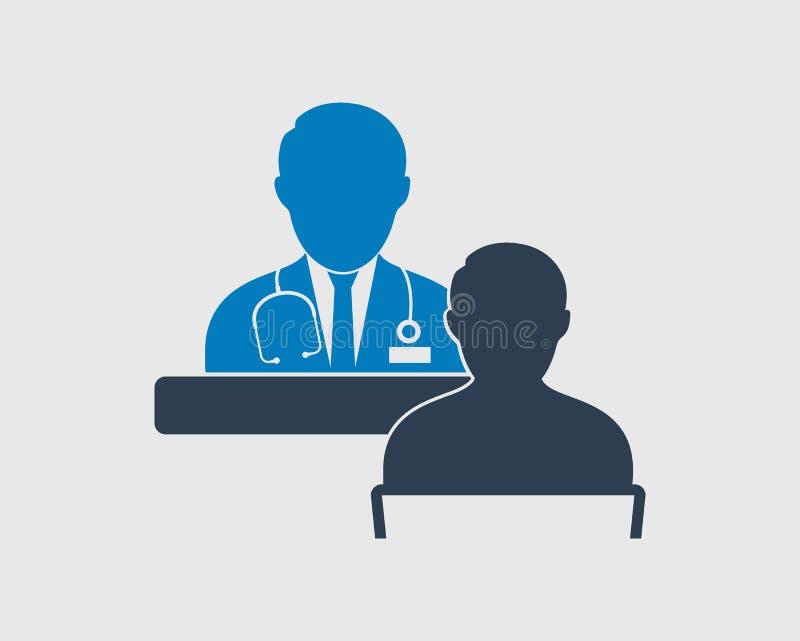 Icono del consultor médico libre illustration