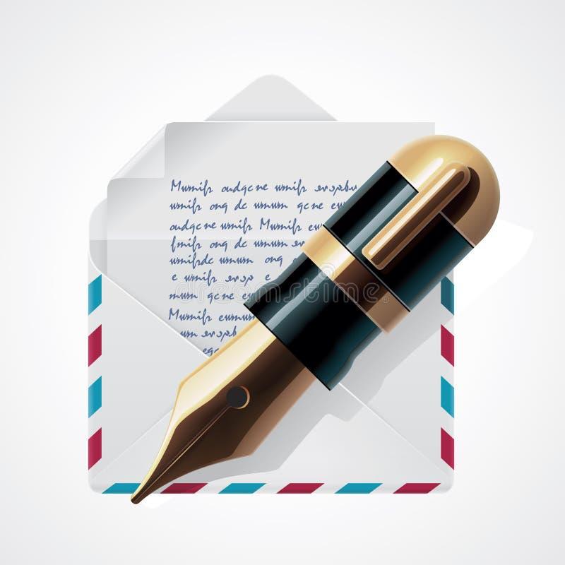 Icono del correo del vector libre illustration