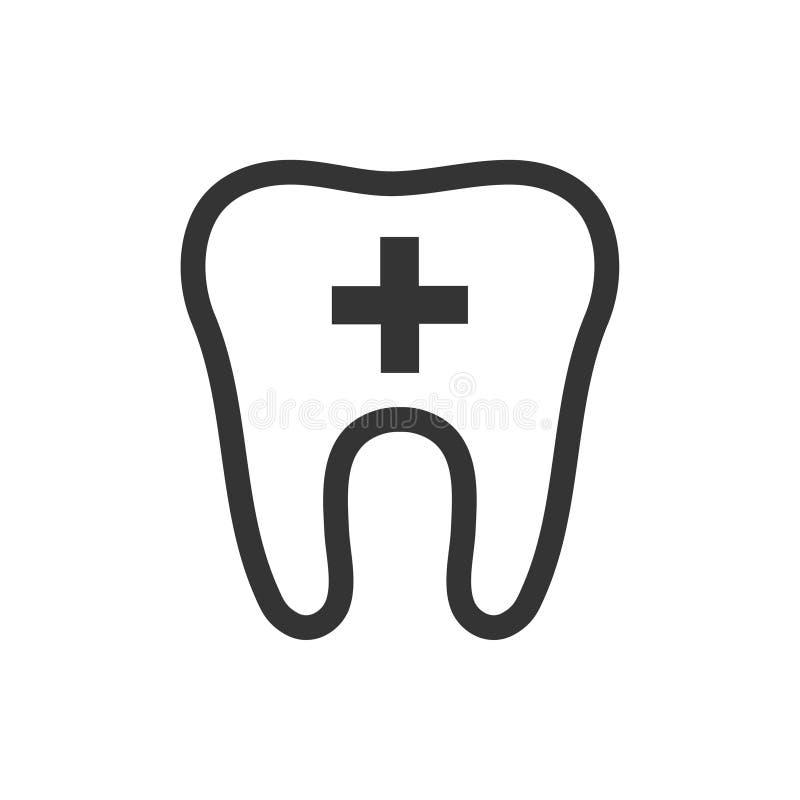 Icono del cuidado dental libre illustration