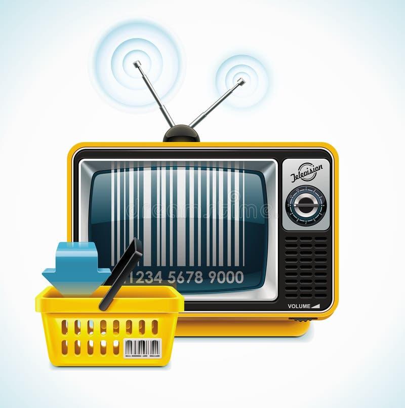 Icono del departamento XXL del vector TV stock de ilustración
