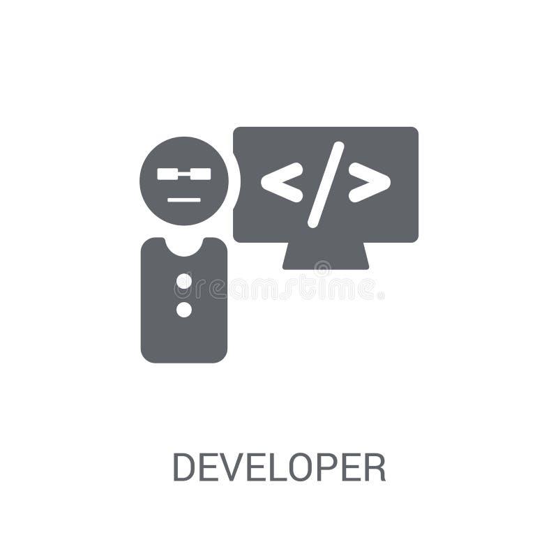 Icono del desarrollador  libre illustration