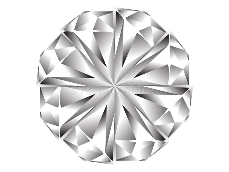 Icono del diamante ilustración del vector