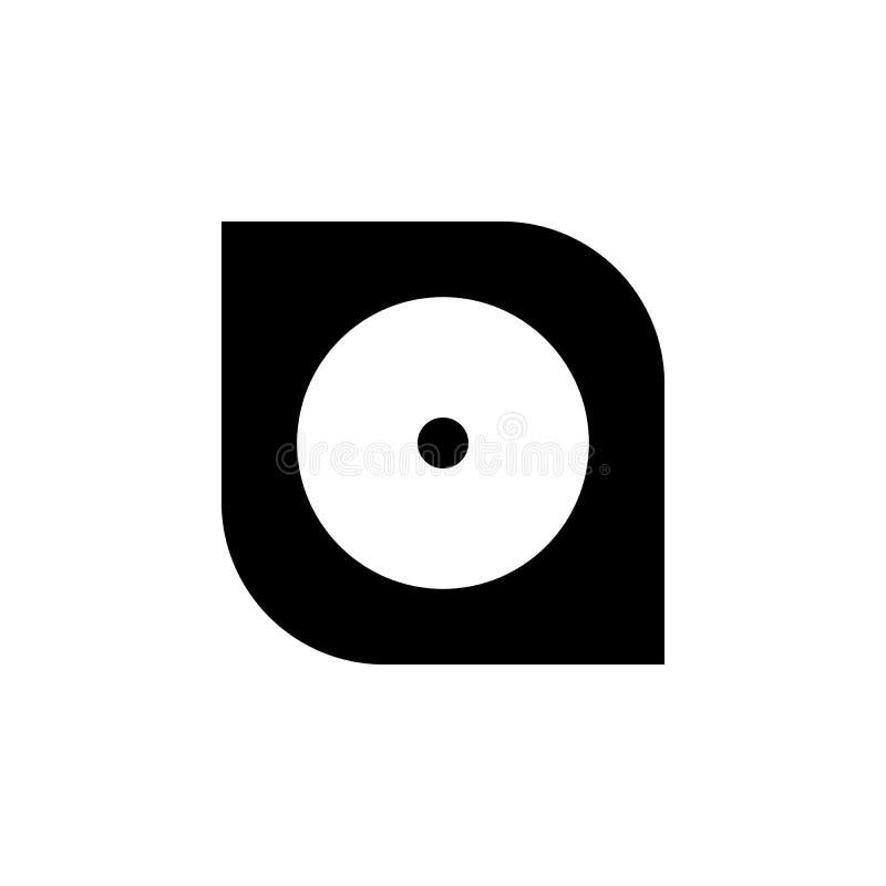 Icono del disco duro Elemento del icono minimalistic para los apps móviles del concepto y del web Muestras e icono para los sitio libre illustration