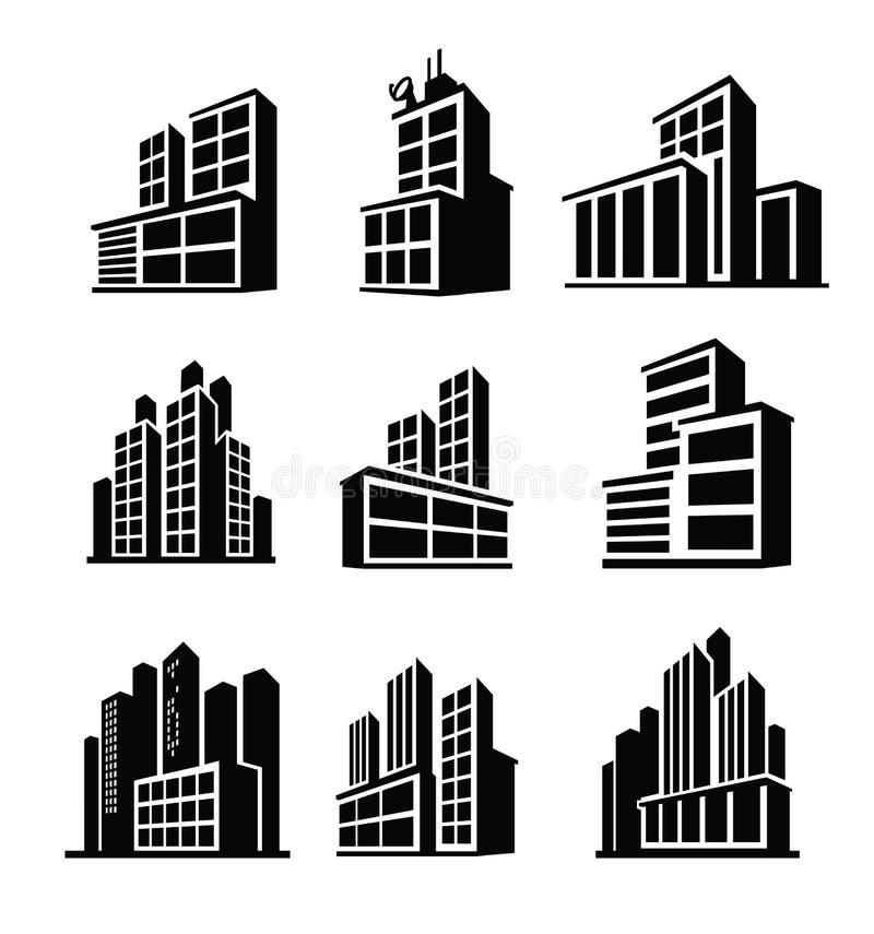 icono del edificio libre illustration
