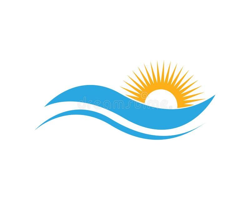 Icono del ejemplo del vector de Sun libre illustration