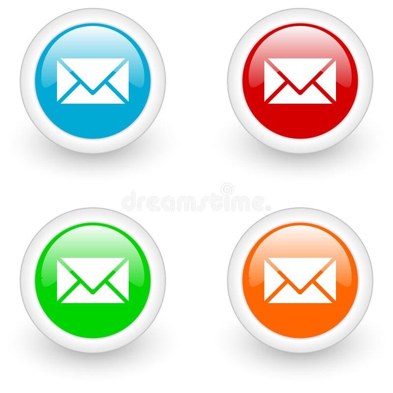 Icono del email libre illustration