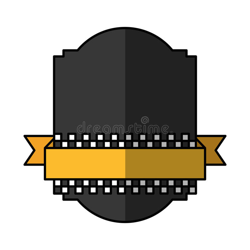Icono del emblema del servicio del taxi libre illustration