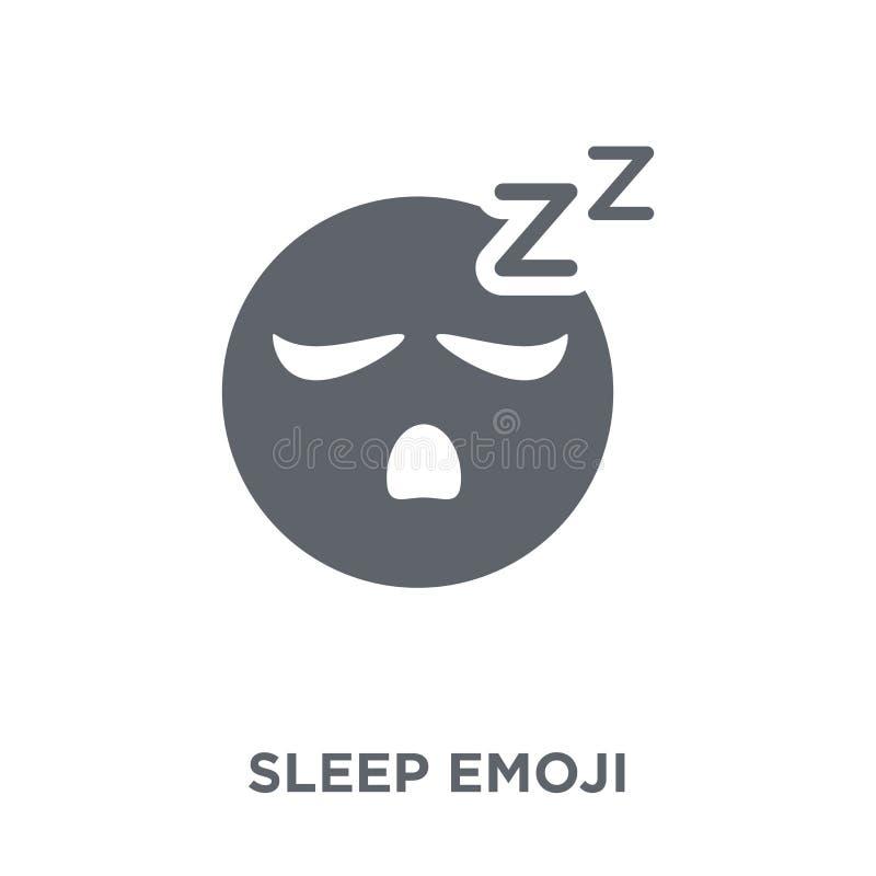 Icono del emoji del sueño de la colección de Emoji ilustración del vector