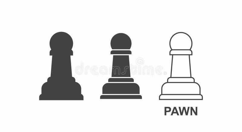 Icono del EMPEÑO del ajedrez libre illustration