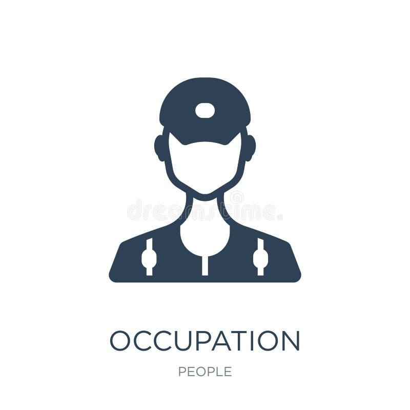 icono del empleo en estilo de moda del diseño icono del empleo aislado en el fondo blanco icono del vector del empleo simple y mo libre illustration