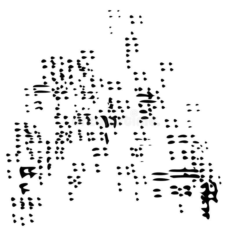 Icono del enjambre de la arena del vector ilustración del vector