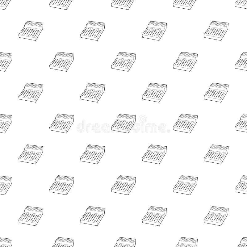 Icono del equalizador, estilo del esquema libre illustration