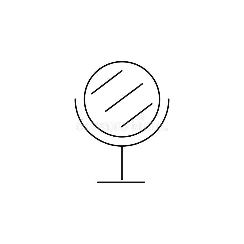 Icono del espejo ilustración del vector