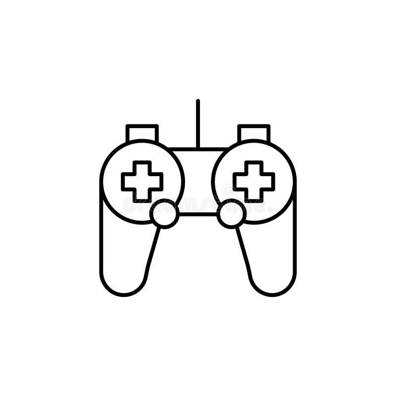 Icono del esquema del control de la robótica Las muestras y los símbolos se pueden utilizar para la web, logotipo, app móvil, UI, stock de ilustración