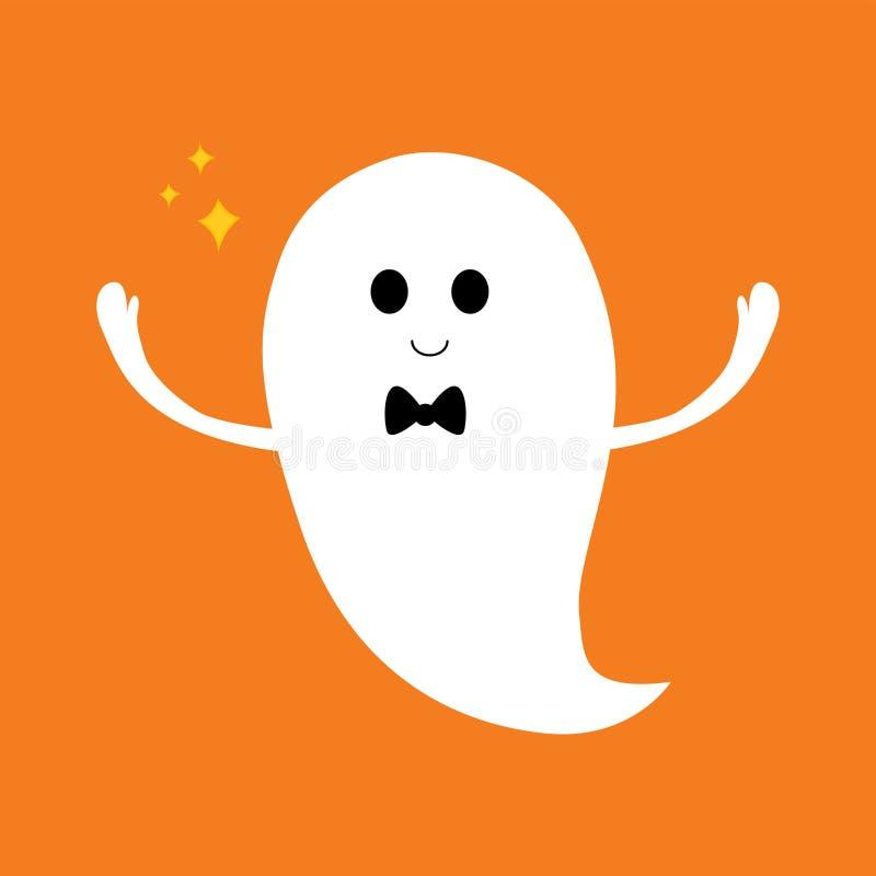 Icono del fantasma de Halloween ilustración del vector