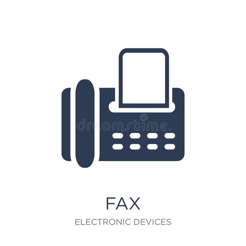 Icono del fax  libre illustration