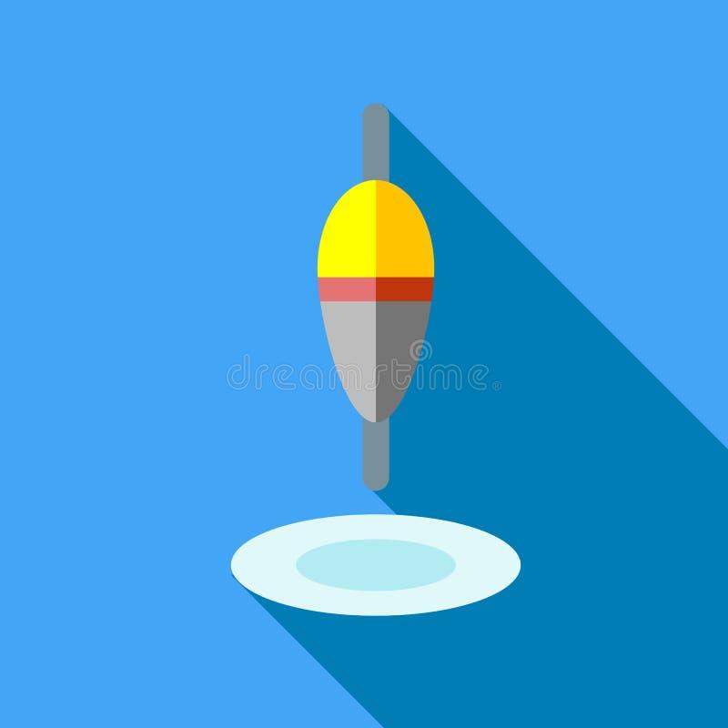 Icono del flotador, estilo plano stock de ilustración