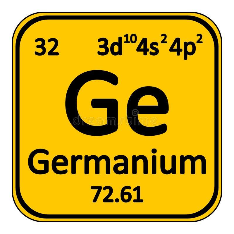 Icono del germanio del elemento de tabla peridica stock de download icono del germanio del elemento de tabla peridica stock de ilustracin ilustracin de cubo urtaz Gallery