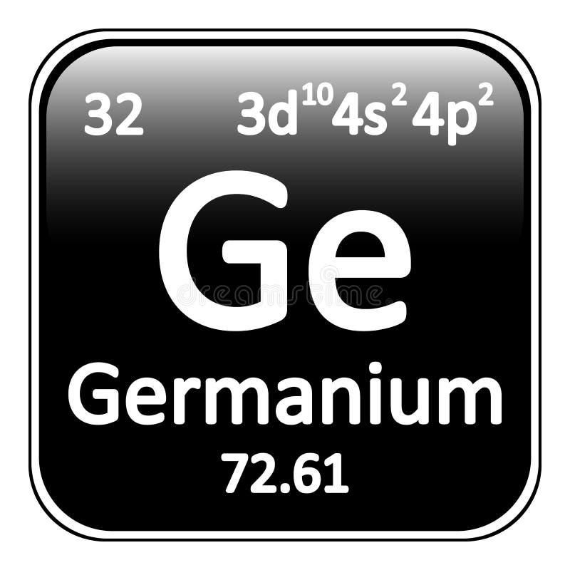 Icono del germanio del elemento de tabla peridica stock de download icono del germanio del elemento de tabla peridica stock de ilustracin ilustracin de primordial urtaz Gallery