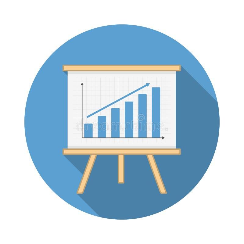 Icono del gráfico stock de ilustración