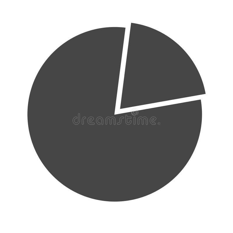 Icono del gráfico de sectores libre illustration