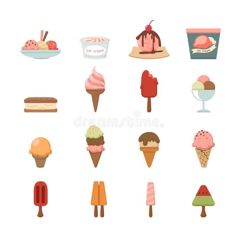 Download Icono del helado ilustración del vector. Ilustración de frío - 42434381