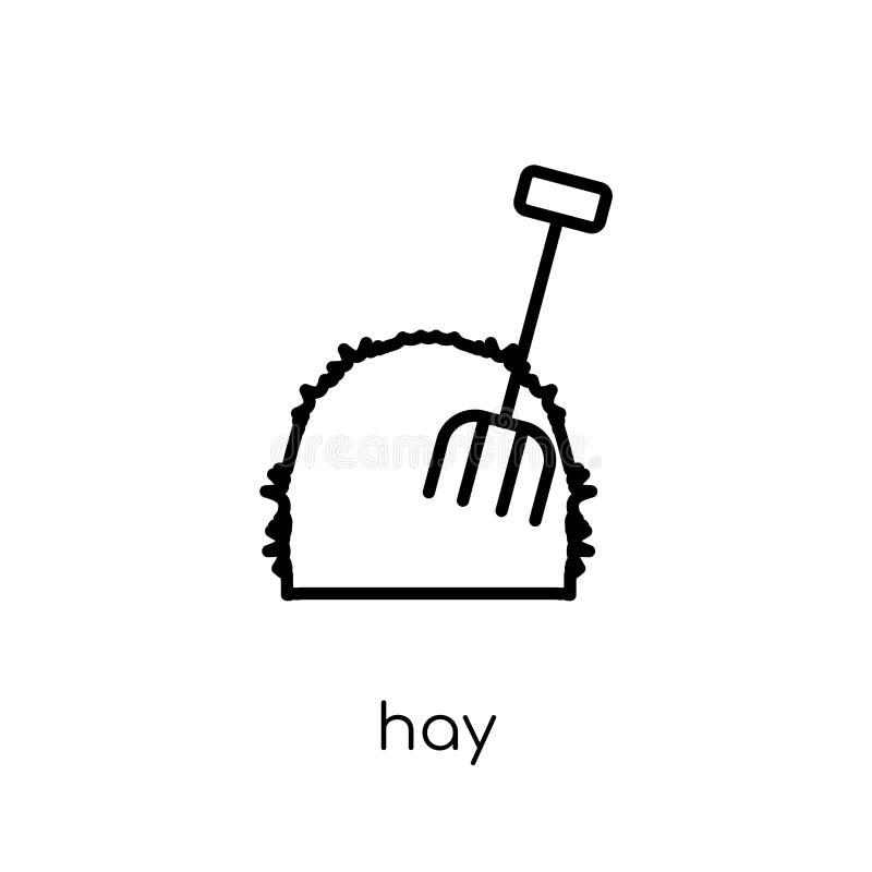 Icono del heno  stock de ilustración