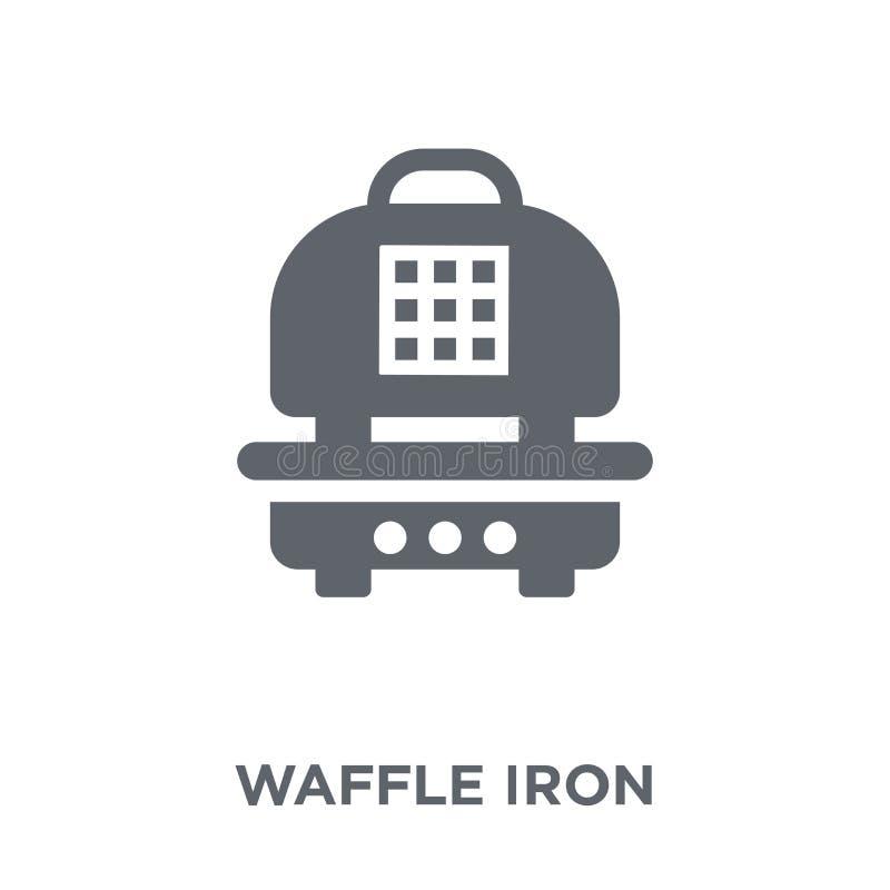 icono del hierro de galleta de la colección de la cocina stock de ilustración