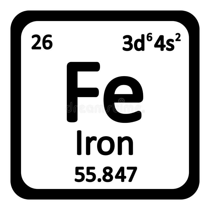 Icono del hierro del elemento de tabla peridica stock de download icono del hierro del elemento de tabla peridica stock de ilustracin imagen 78437391 urtaz Images