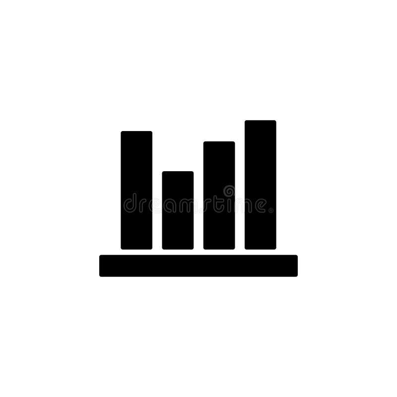 Icono del horario Elemento del icono del web para los apps móviles del concepto y del web El icono aislado del horario se puede u stock de ilustración