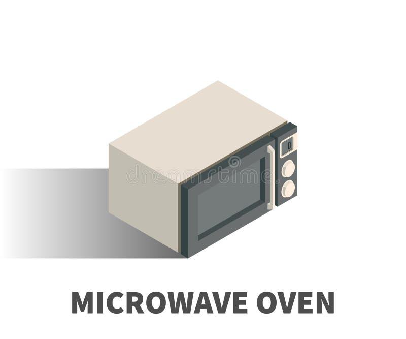 Icono del horno de microondas, símbolo del vector libre illustration