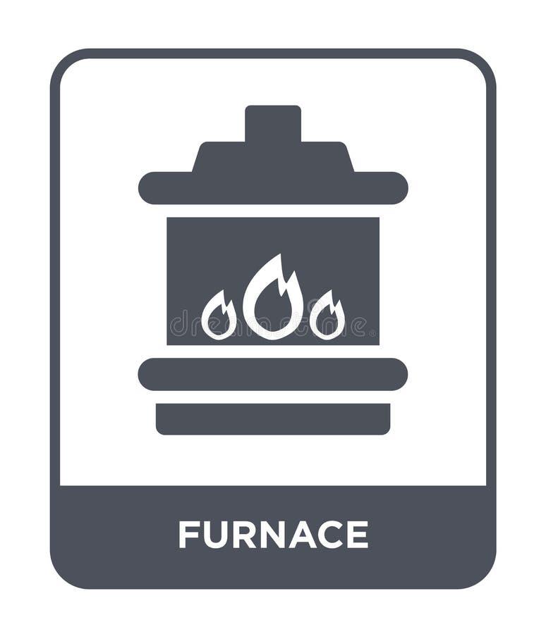 icono del horno en estilo de moda del diseño icono del horno aislado en el fondo blanco símbolo plano simple y moderno del icono  stock de ilustración