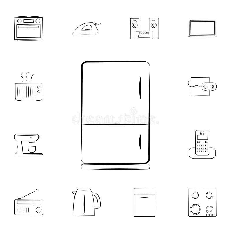 Icono del horno Sistema detallado de los aparatos electrodomésticos Diseño gráfico superior Uno de los iconos de la colección par ilustración del vector